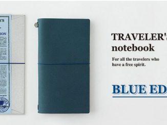 【開箱】TRAVELER'S notebook 旅人筆記本-經典限定藍 @吳大妮