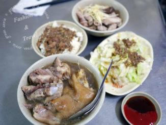 【台中美食】南屯豬腳麵線~在地老店排隊美食 @吳大妮