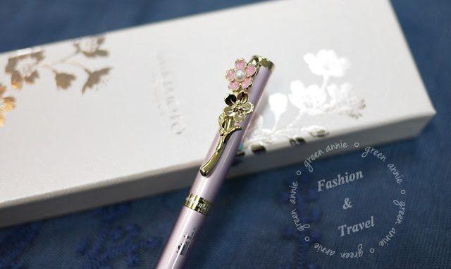MIKIMOTO限量筆~2016珍珠櫻花筆~簡單開箱介紹 @吳大妮