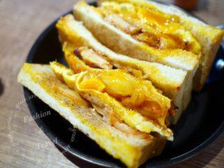 【三重碳烤吐司】餓店碳烤土司~豬排獨家醃製,厚實又美味~臨近捷運三重國小站 @吳大妮