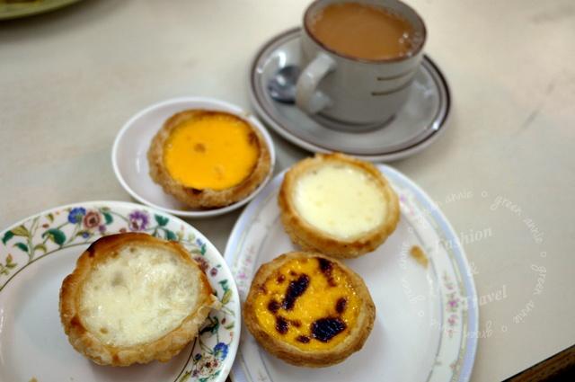 新好利咖啡餅店,氹仔官也街~燕窩蛋塔【澳門美食】 @吳大妮的生活筆記本