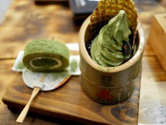 三星丸,三星園抹茶宇治商船~來自京都日本茶專賣店【台中甜點】 @吳大妮