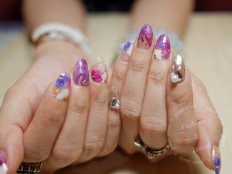 潔月兒,TNA國際盃美甲沙龍彩繪組冠軍款就在大妮指尖上~ @吳大妮
