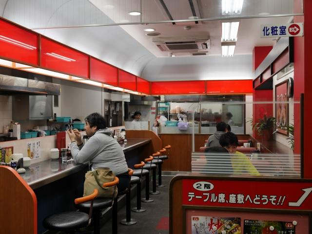 餃子王將,(餃子の王将)~名古屋大須觀音店,現在高雄漢神百貨也吃的到