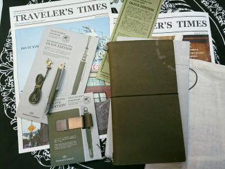 TN,2017經典限定Traveler's Notebook-橄欖綠OLIVE EDITION @吳大妮