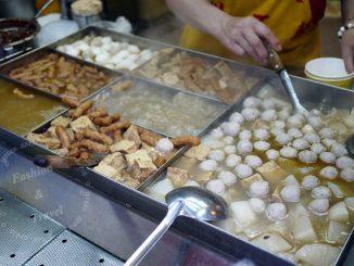 龍山寺捷運站美食,兩喜號+頂級甜不辣+懷念愛玉冰~美食多到破表 @吳大妮