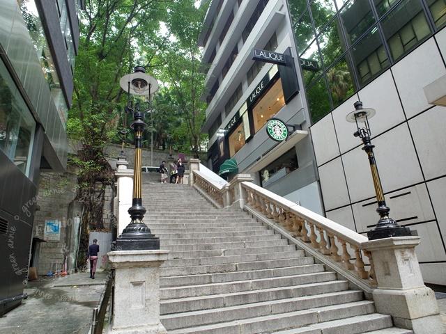 都爹利街煤氣路燈+「冰室角落」復古星巴克@香港中環