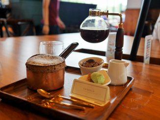 台中咖啡廳卡啡那,有插座有WIFI不限時~舒芙蕾超美味必吃,精品咖啡也必喝 @吳大妮