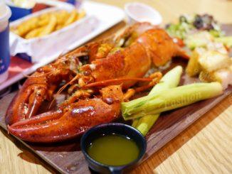 Captain Lobster龍蝦堡,包入整隻龍蝦肉,還可吃到新鮮龍蝦@信義區A11 @吳大妮