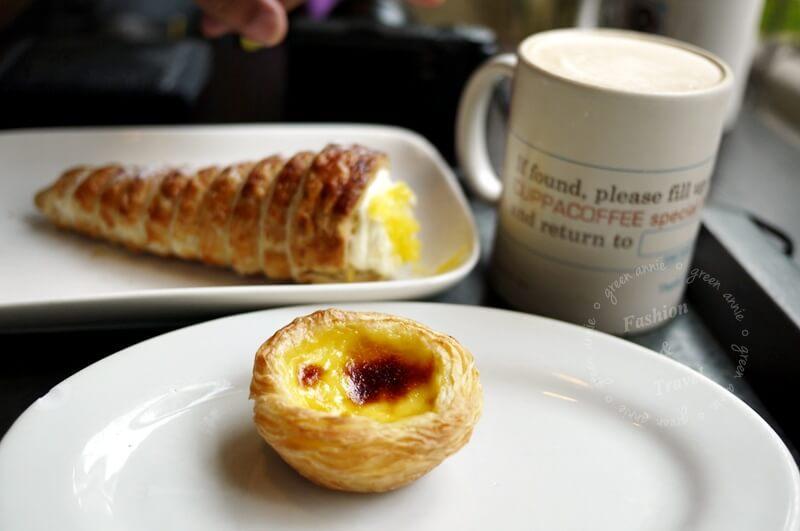 澳門CUPPA COFFEE~吃的到正統葡萄牙式甜點 @吳大妮