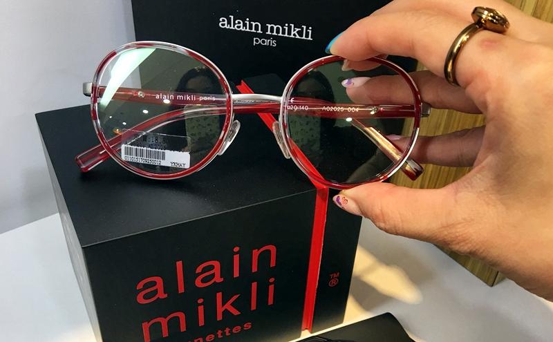 玖玖眼鏡,日本東海葉黃素鏡片x夢幻品牌alain mikli~不止抗藍光也讓造型加分