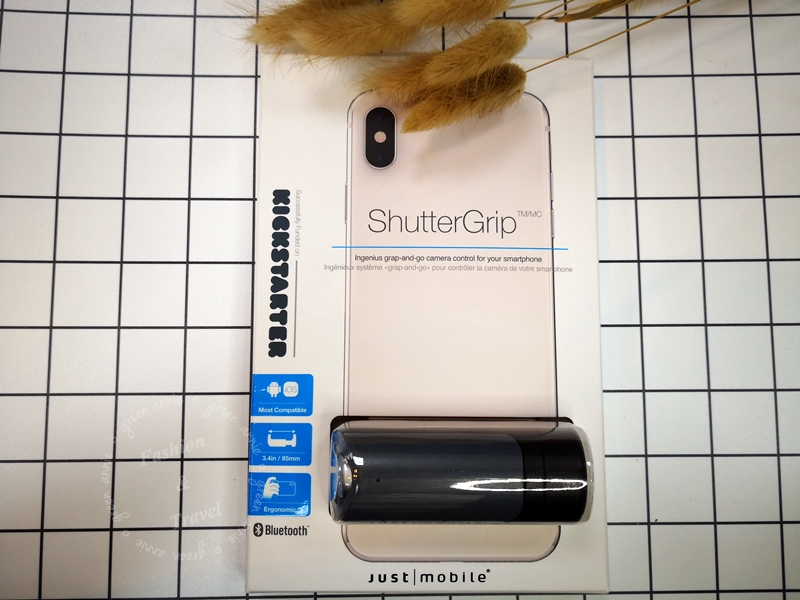 JUST MOBILE ShutterGrip 掌握街拍