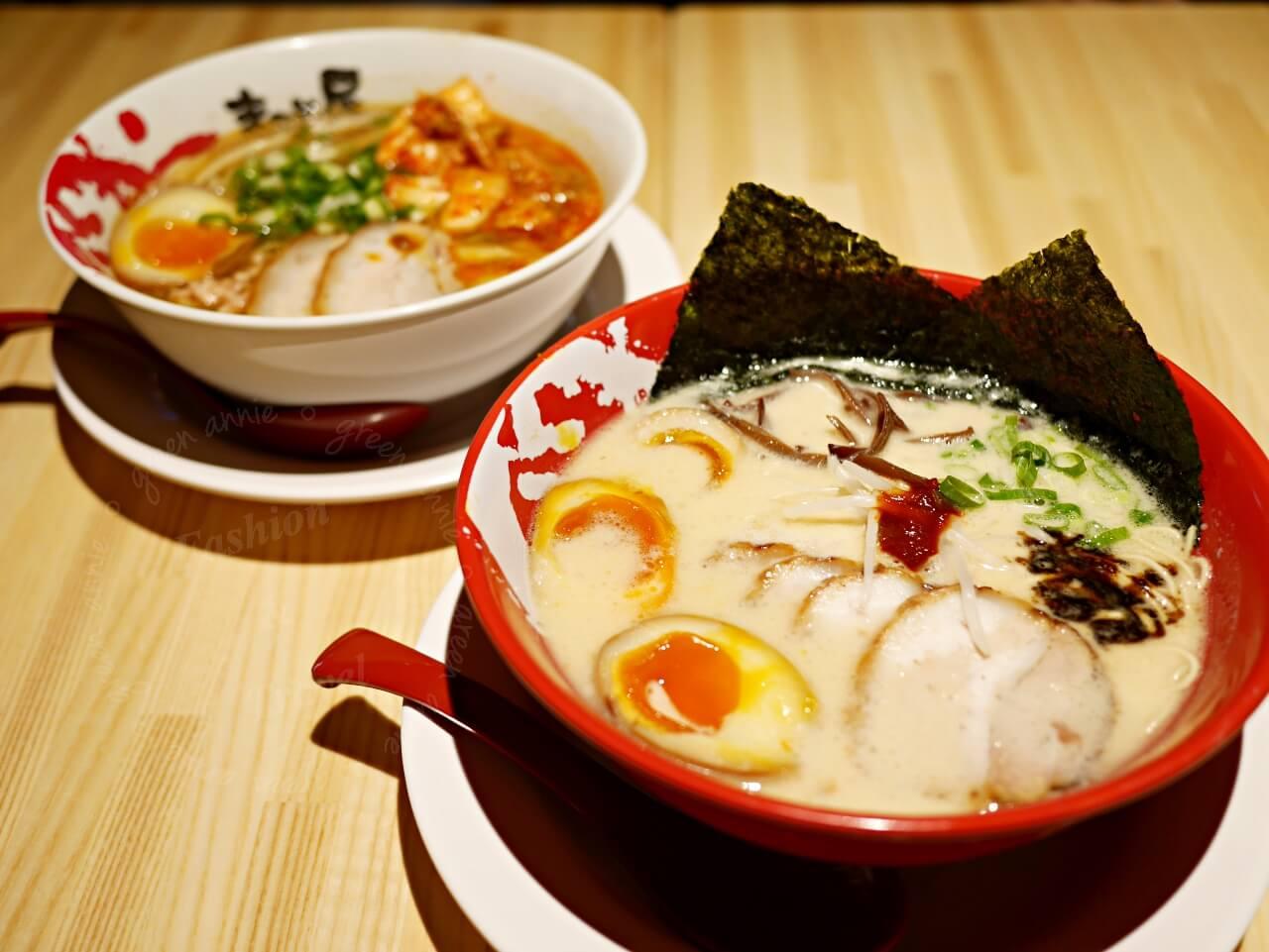 大直美食:誠屋拉麵食記。ATT 4 Recharge大直新地標有米其林餐廳、美食餐廳、親子互動空間。