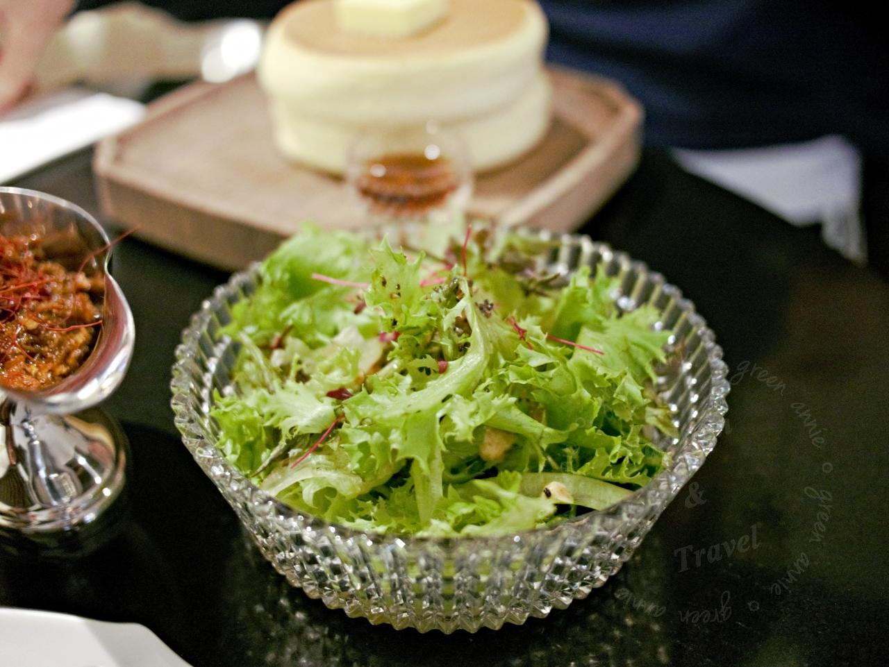超好吃的日本北海道厚鬆餅椿Tsubaki Salon,現在台北晶華B2就吃的到