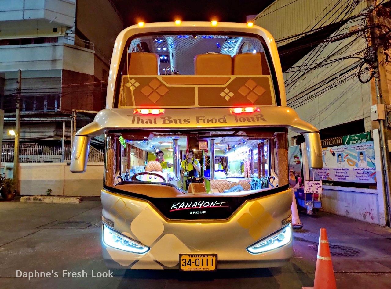 曼谷美食巴士-Thai Bus Food Tour