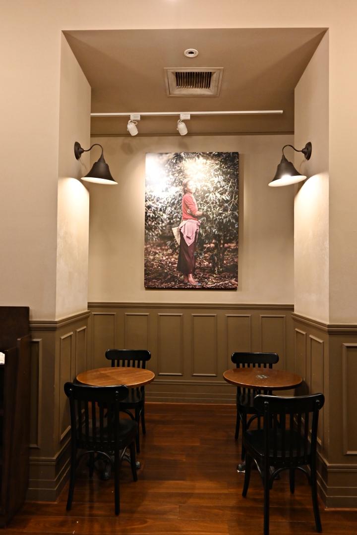 大稻埕星巴克保安門市,在巴洛克風格古蹟建築喝杯咖啡