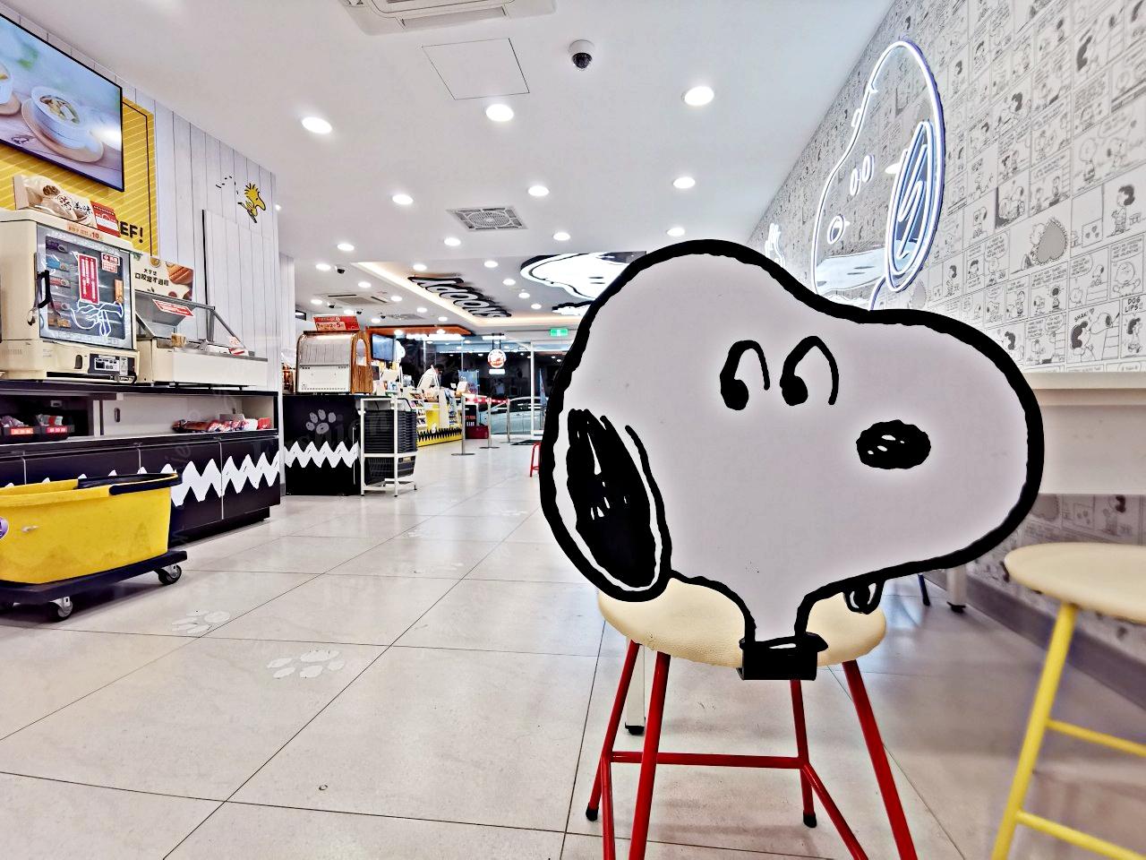 史努比粉絲一定要來,7-11 SNOOPY聯名店-臨近華山商圈