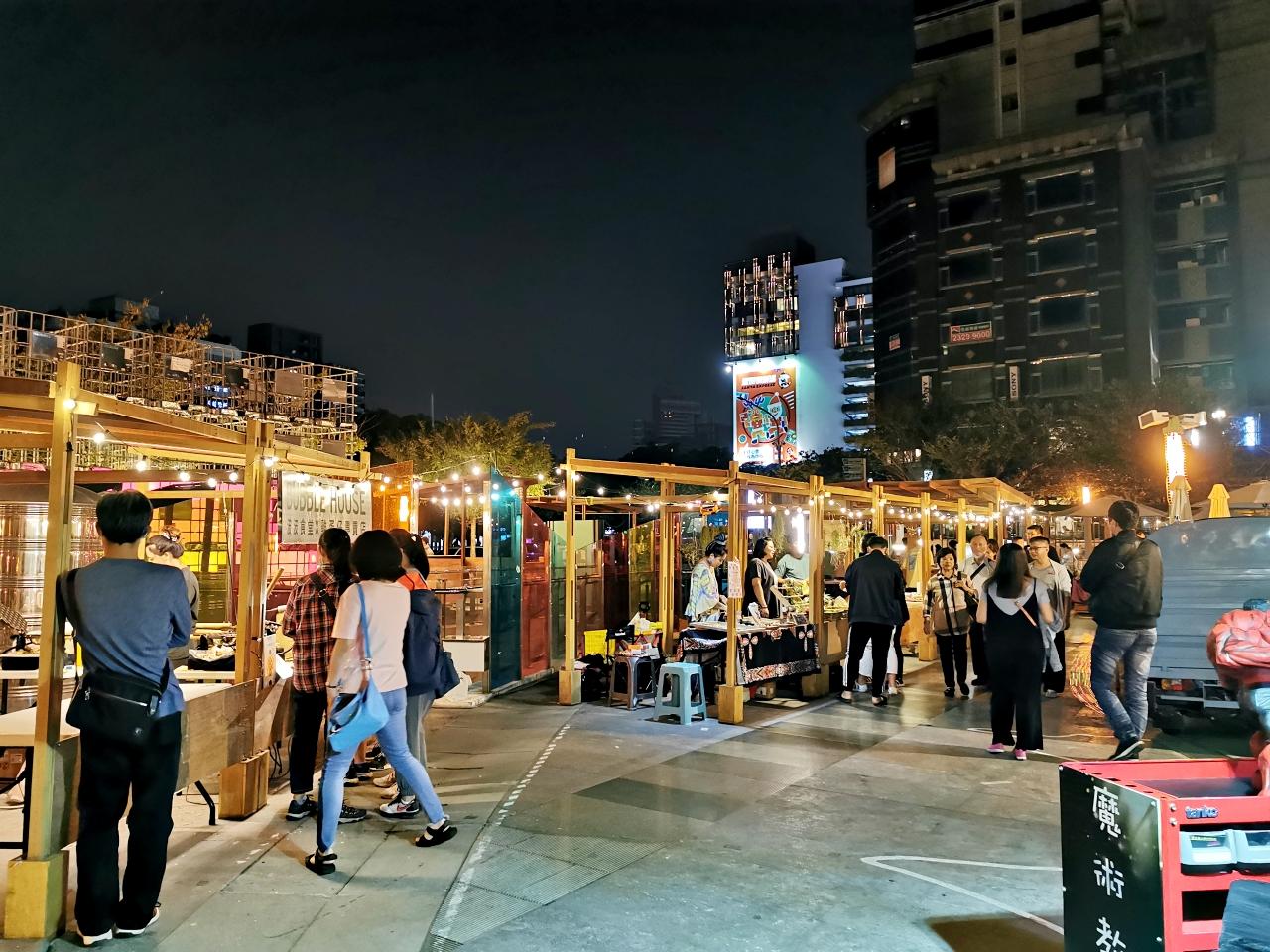 台中市集:草悟廣場「富地市場」試營運中,美美市集好拍又很多美食