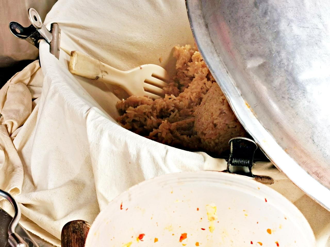 三重美食:美味的古早味豬腸冬粉-三重仁義街