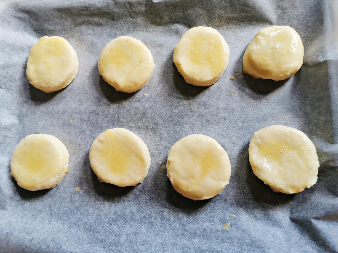 烘培記錄:司康食譜,吃起來外酥內軟的英式鬆餅Scone