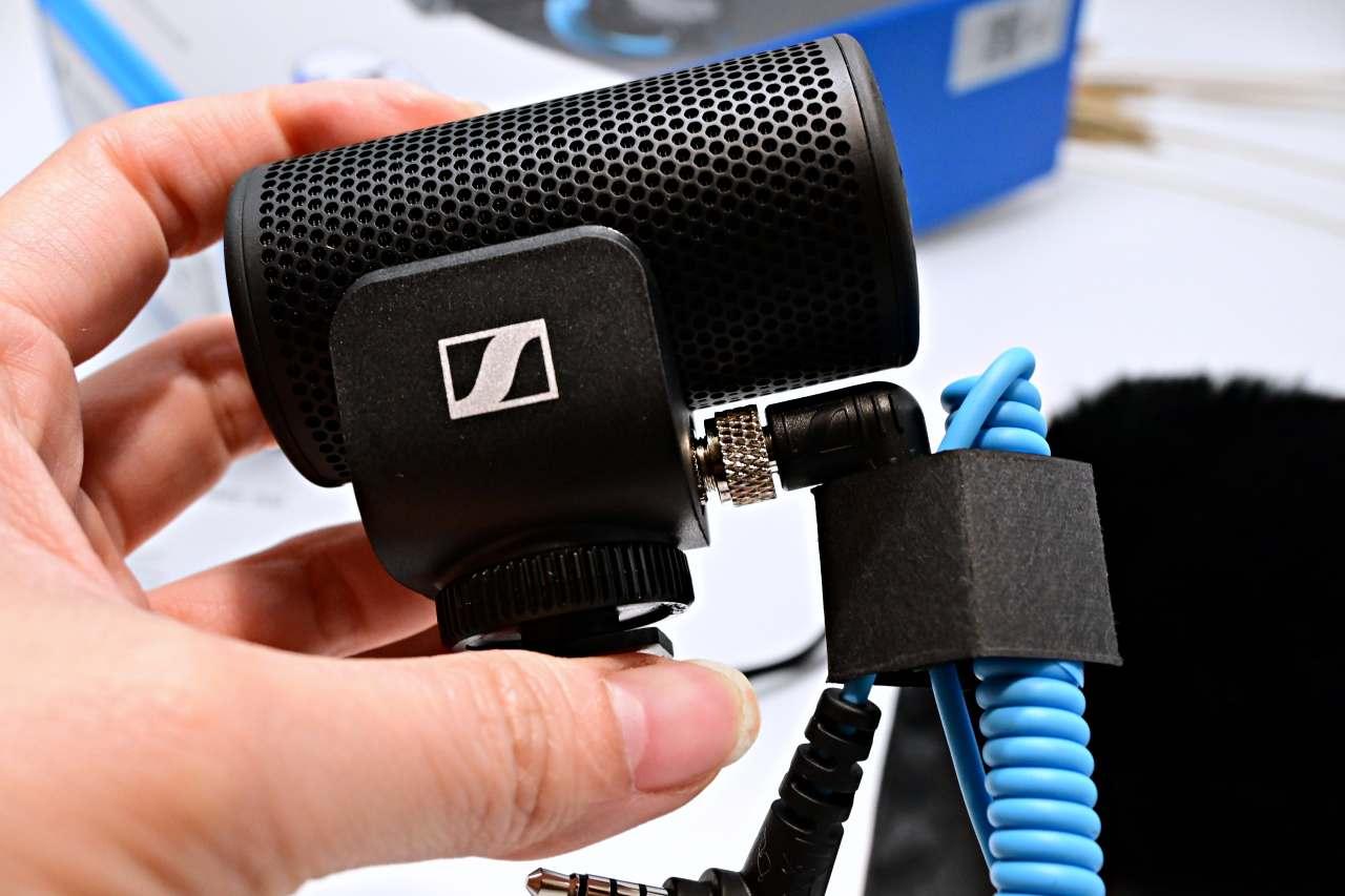 SENNHEISER MKE 200 聲海指向型麥克風,手機和相機都能用