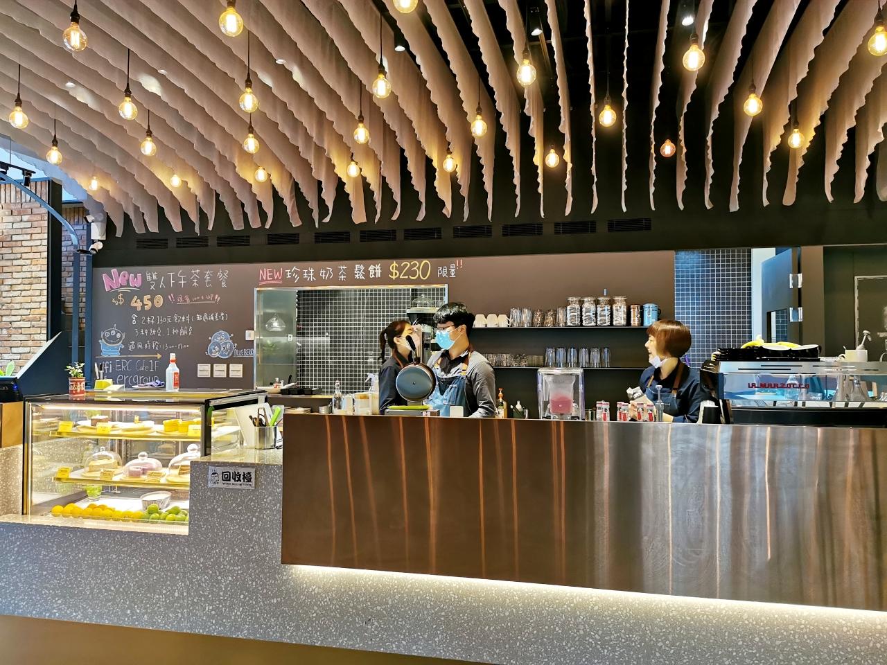 中和咖啡廳推薦:ERC Cafe 阿達阿永咖啡廳春嶺店-捷運南勢角站