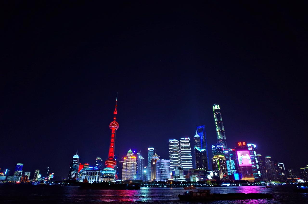上海景點:一定要來看看上海外灘絕美夜景外灘及萬國建築博覽群