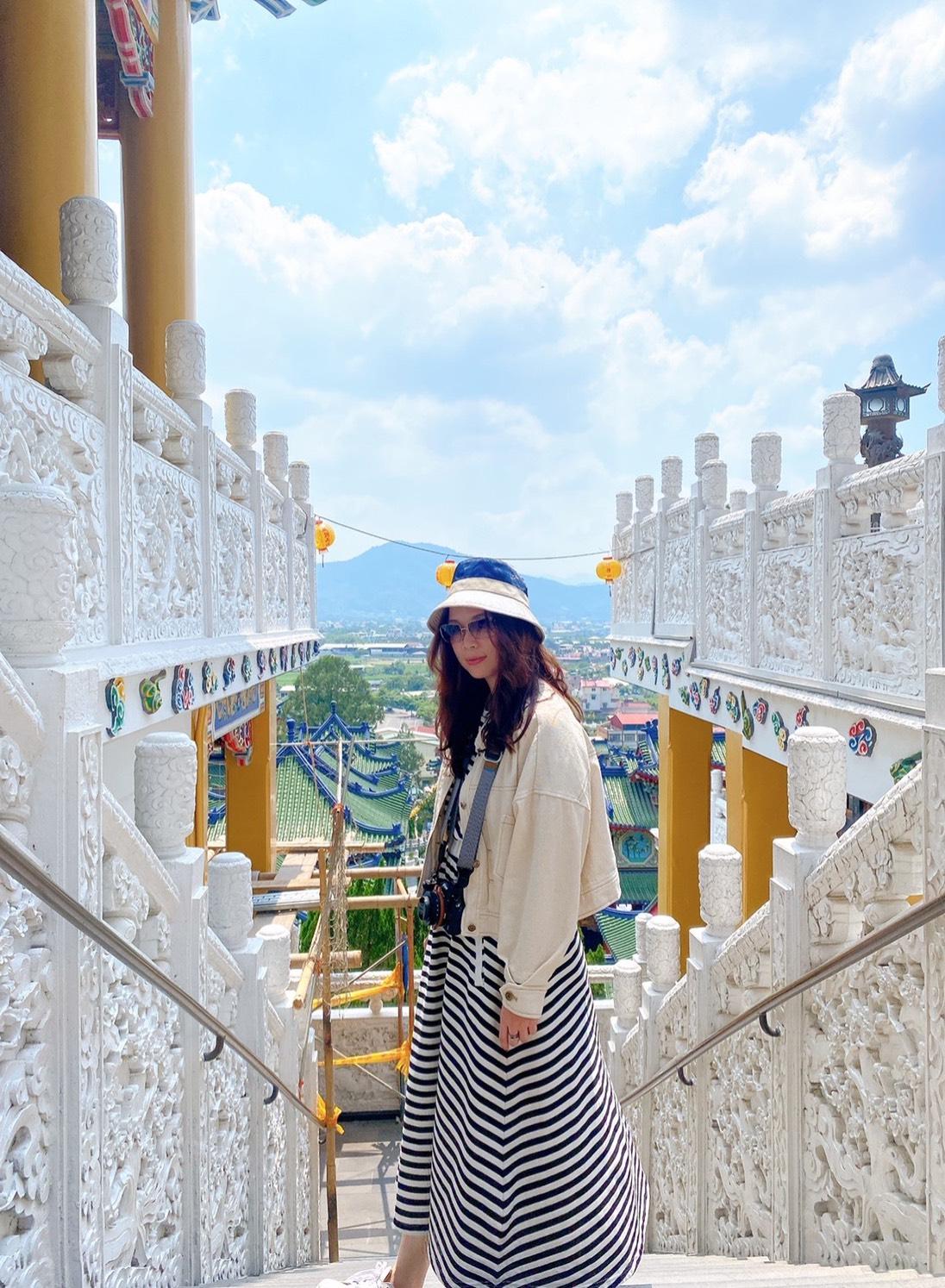 南投景點:南投埔里寶湖宮地母廟,莊嚴又漂亮有台版青瓦台美名,是IG熱門打卡景點