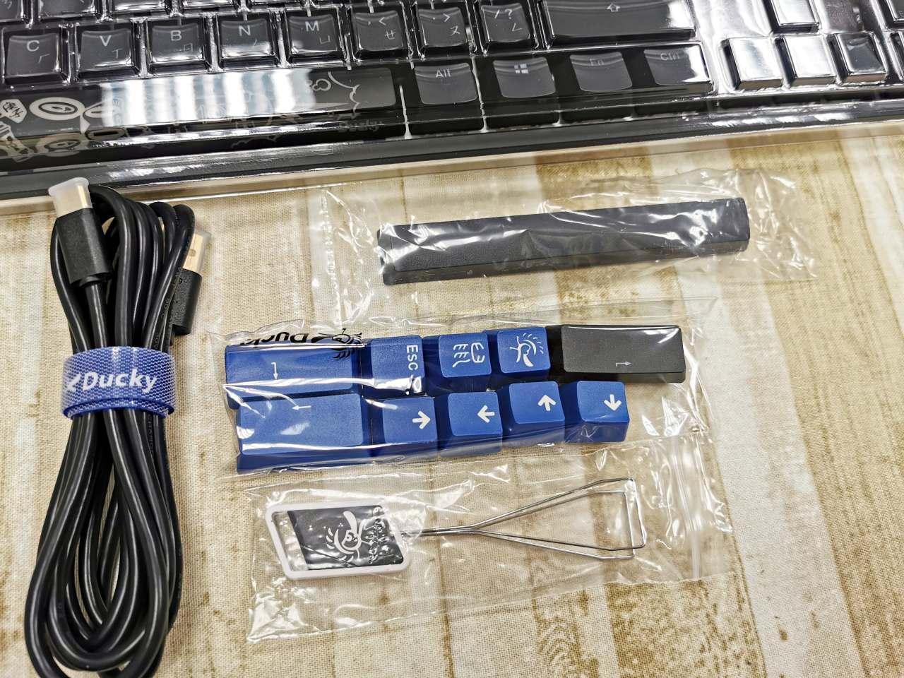 【開箱】DUCKY ONE 2 RGB電競鍵盤