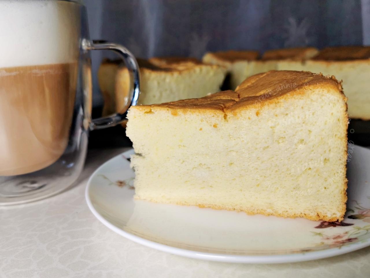 【烘焙日記】基礎原味戚風蛋糕食譜與作法和注意事項