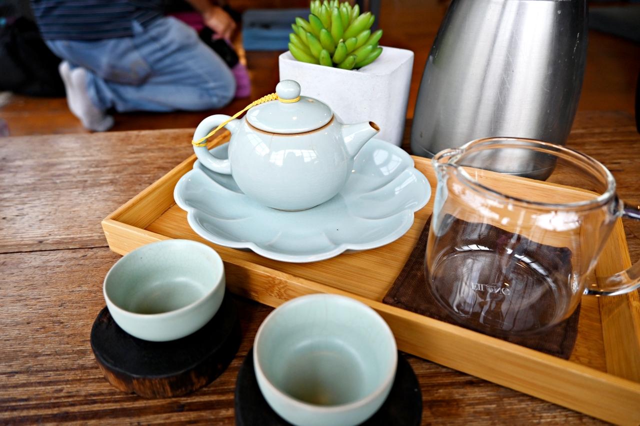 南投景點:車埕貯木池畔旁隱茶steam,愜意日式茶屋一定來坐下喝杯茶吃點心